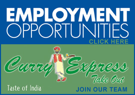 Employment Opportunities at Curry Express Bridgewater